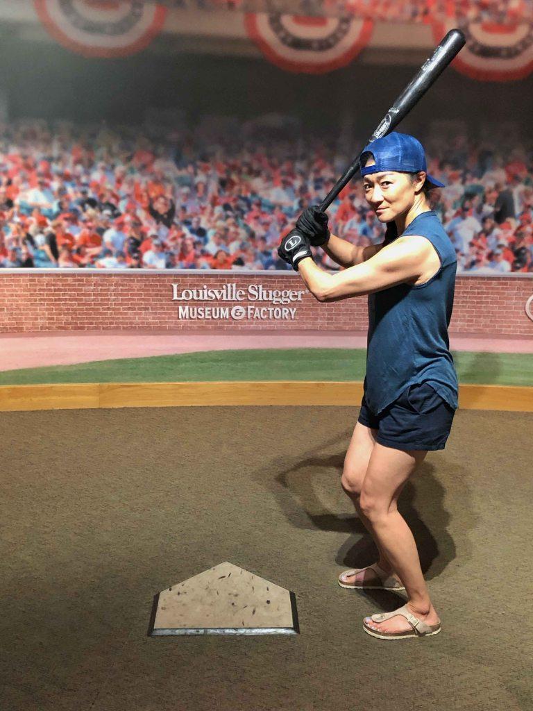 Louisville slugger baseball bat susy bando