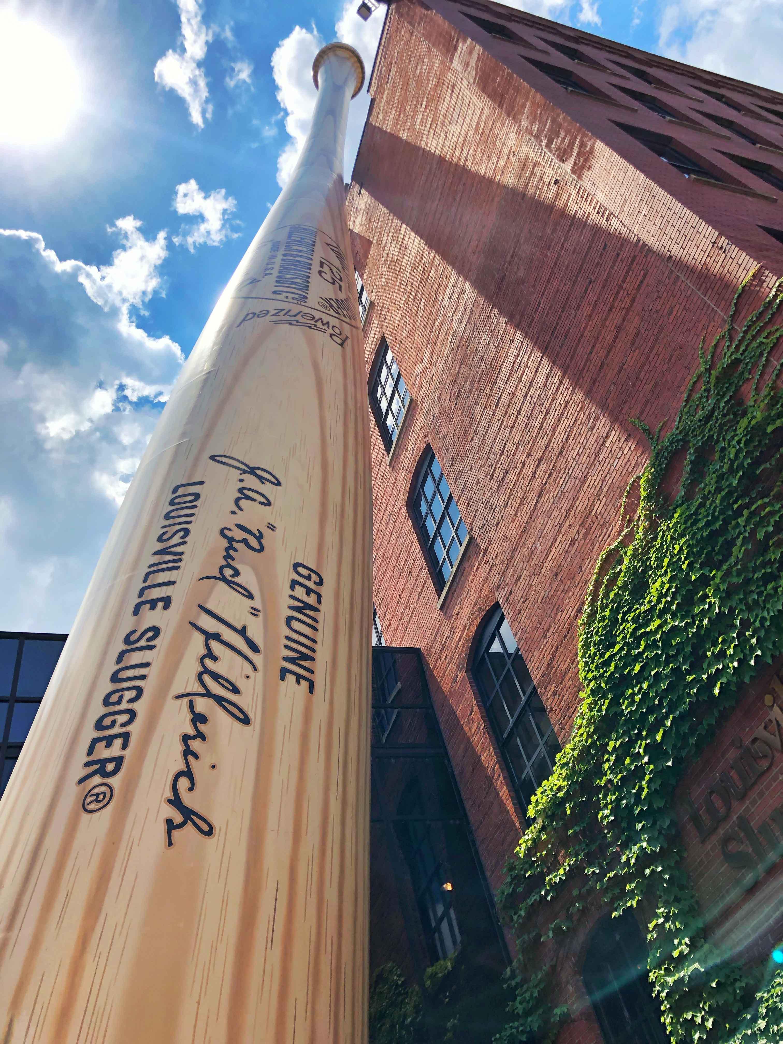 Louisville slugger bat museum