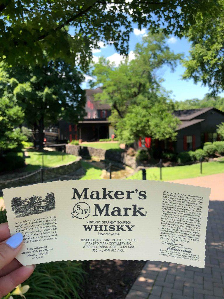 Makers Mark bourbon tour