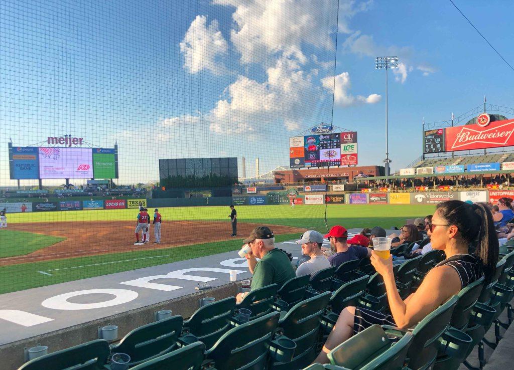 Susy Bando Louisville Bats baseball