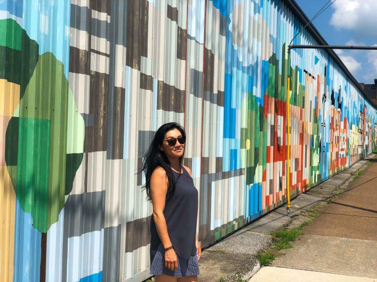 Susy Bando Nashville germantown mural