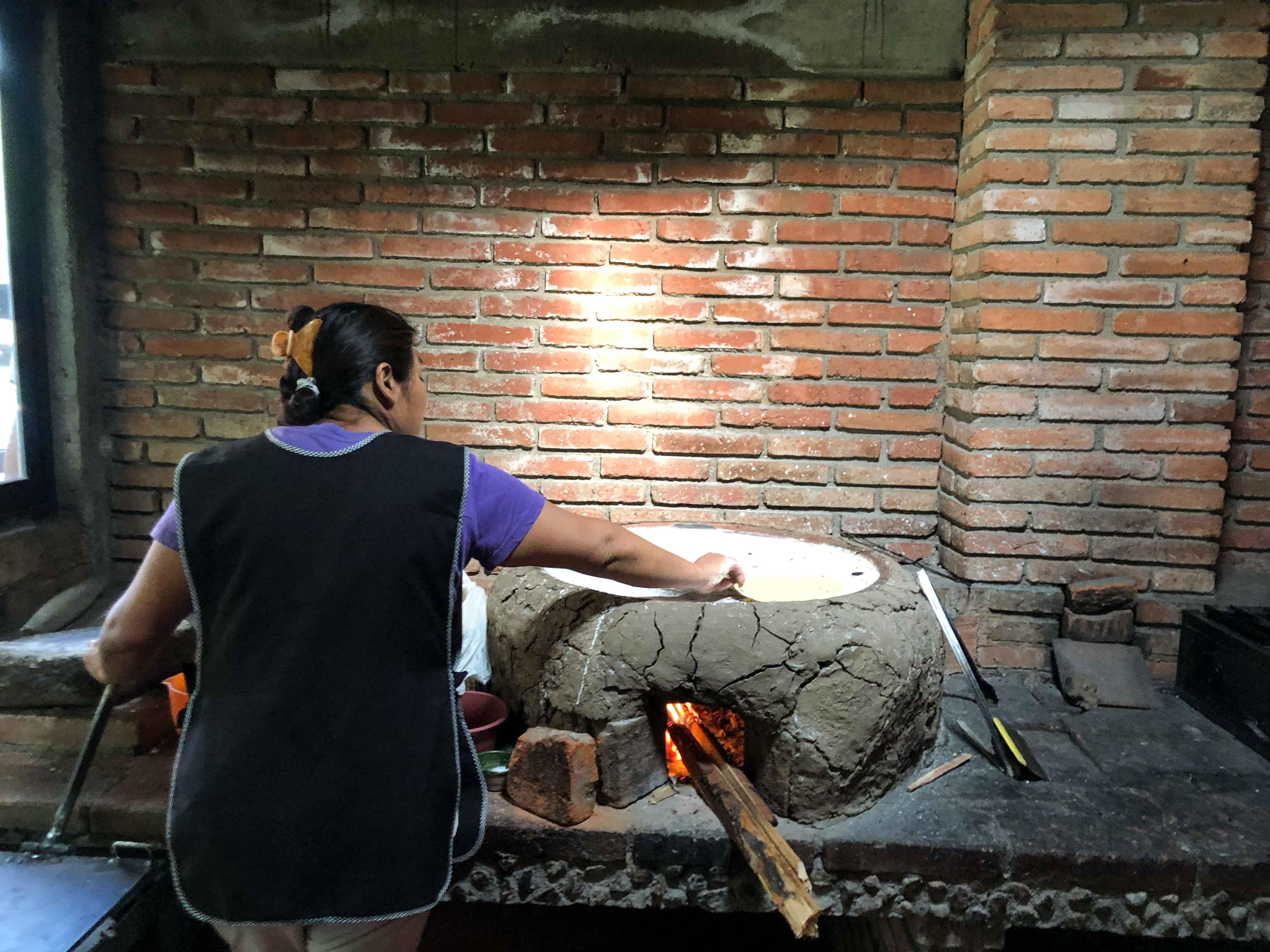 Alfonsia Oaxaca tortilla comal