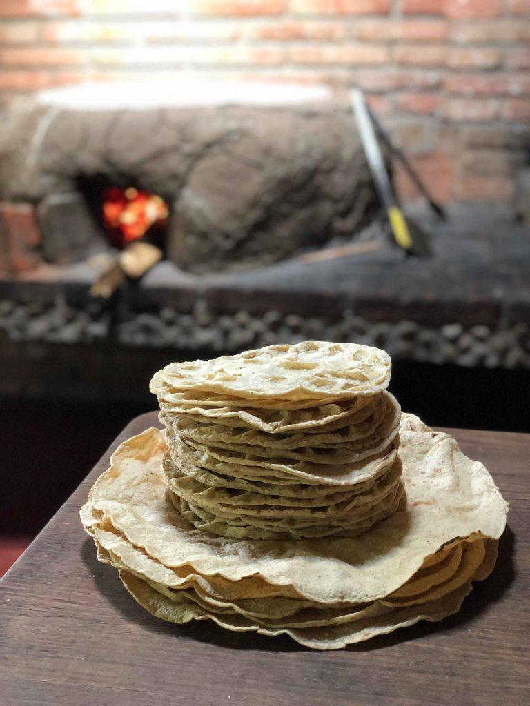 Alfonsia Oaxaca tortilla