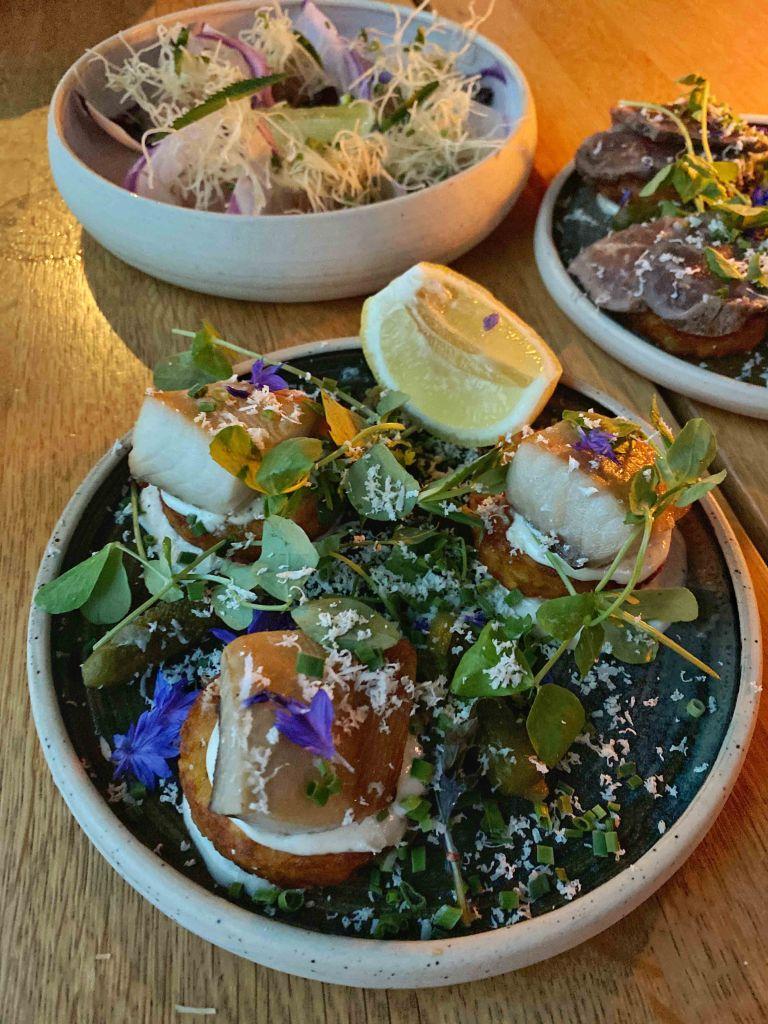 Tofino Hatch Marina pub food