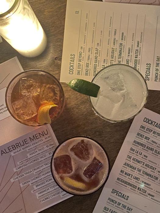 Bastion Nashville cocktails
