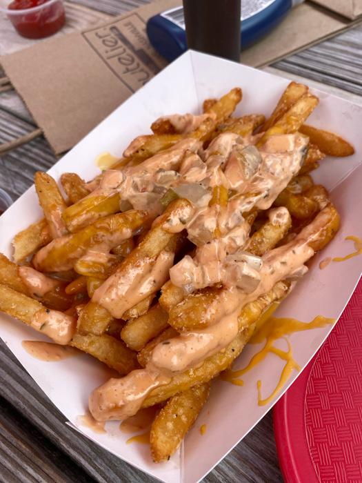 Dinos Nashville animal fries