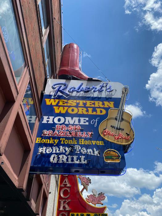 Robert Western World Nashville Broadway